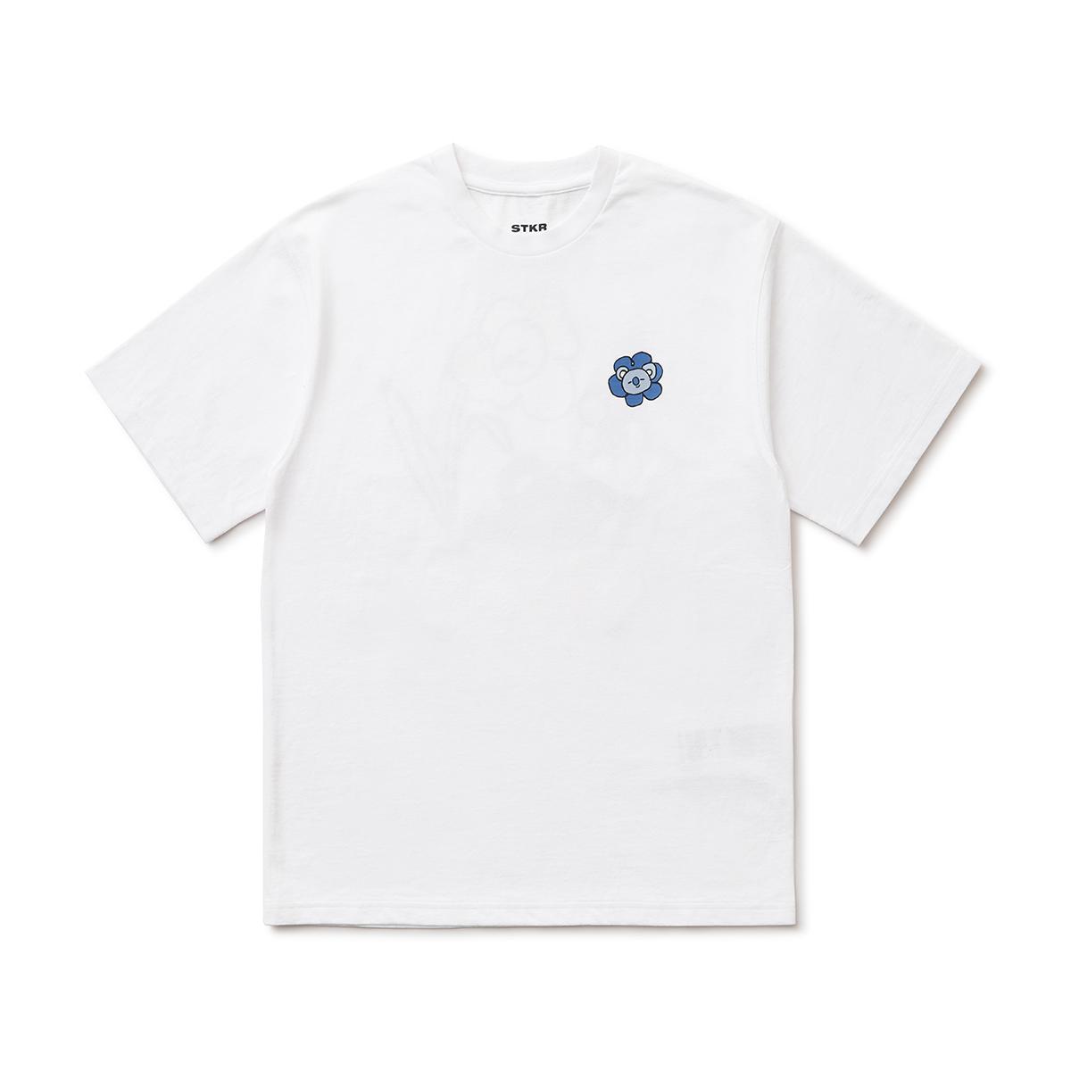 フラワー半袖Tシャツ KOYA BT21
