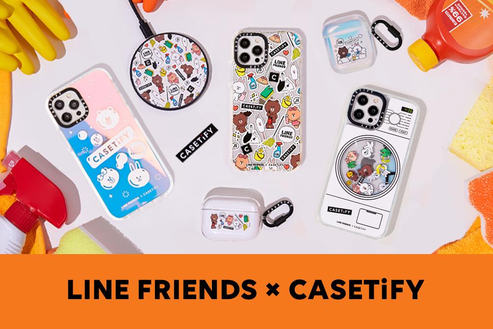 LINE FRIENDS & CASETiFY