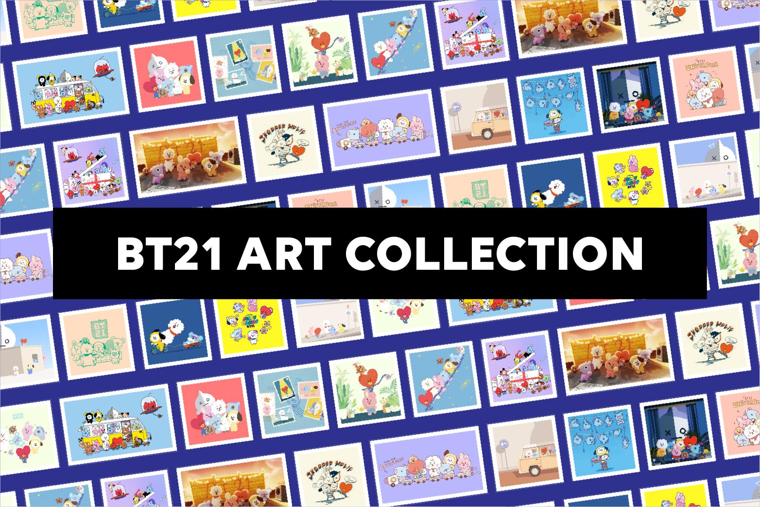 BT21 ART COLLECTION